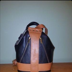Valentina leather shoulder bag leather